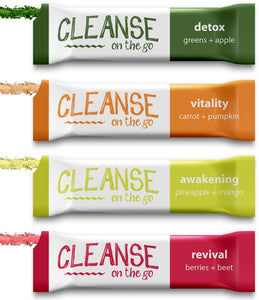 Cleanse on the go - Individual Flavors