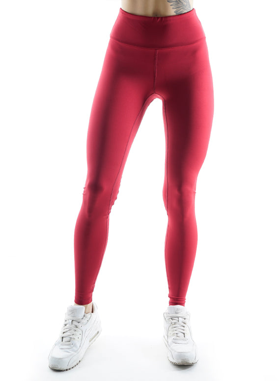 Athletic Power Bordeaux Fitness Leggings