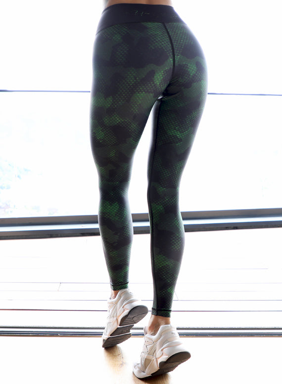 Camo Snake Fitness Leggings