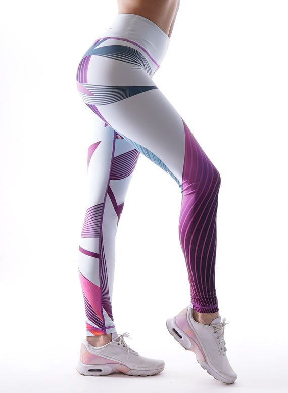 Fancy Curve Fitness Leggings
