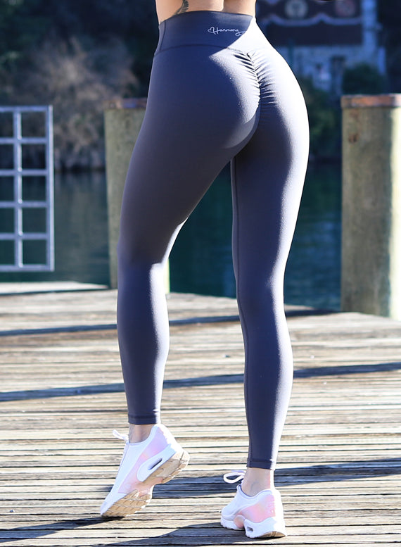 Hybrid grey Leggings by Harmony Fit