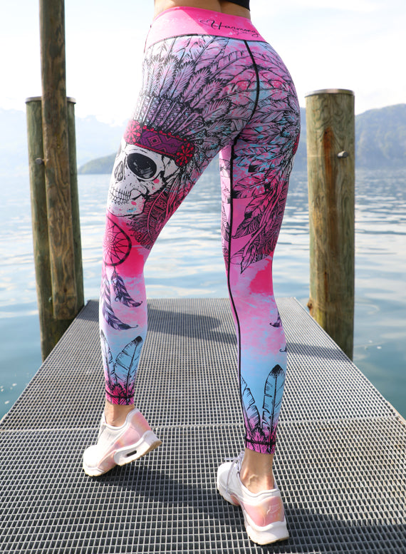 Indiana Skull 2.0 Leggings