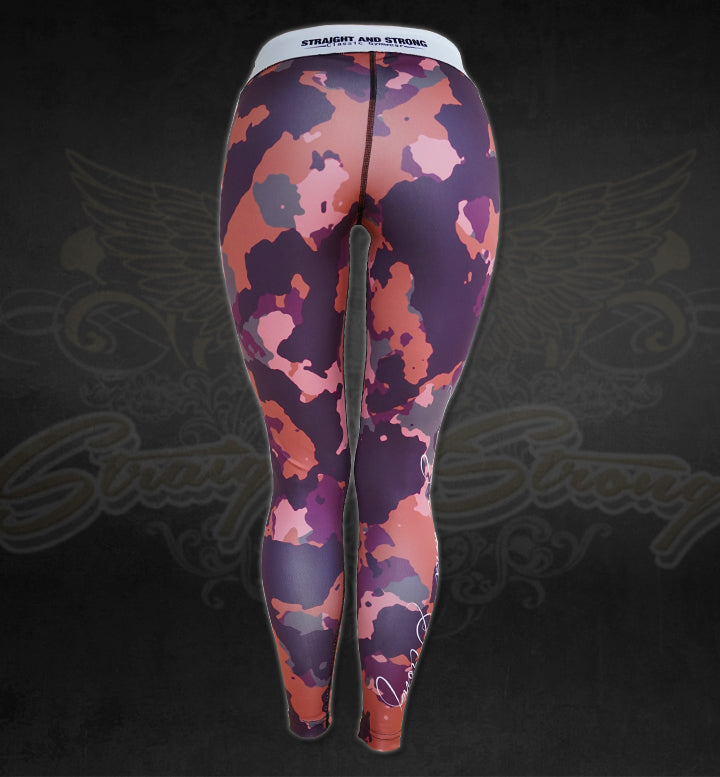 Iron Queen Camo Fitness Leggings