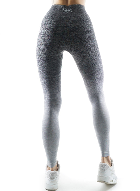 Seamless Ombre grey Leggings
