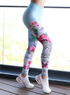 Skull Lady Leggings by Straight and Strong