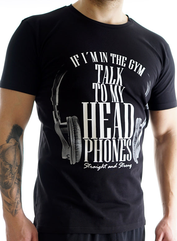 Talk to my Headphones T-Shirt Men