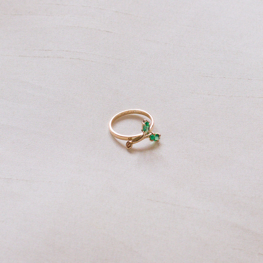 10k Gold Sprout Ring