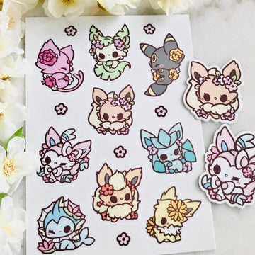 Eeveelution Vinyl Stickers