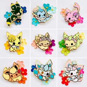 FULL PIN SET: Eeveelutions