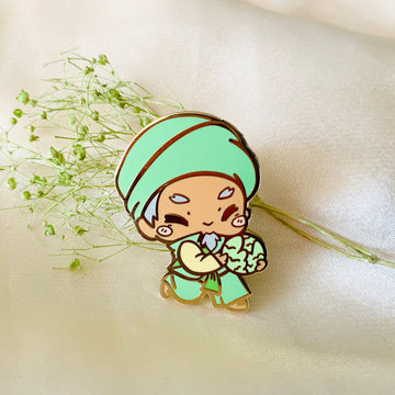 Cabbage Man Pin