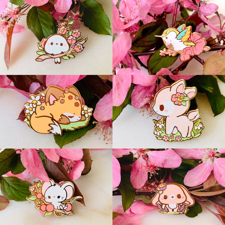 FULL PIN SET - Spring Flora Series