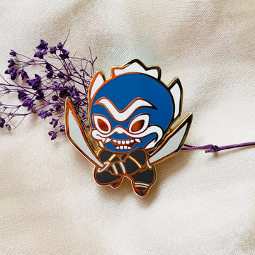 Blue Spirit Pin