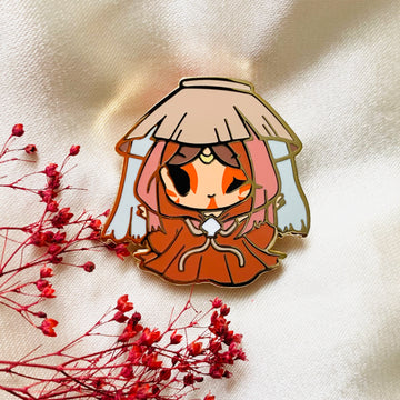 Painted Lady Pin