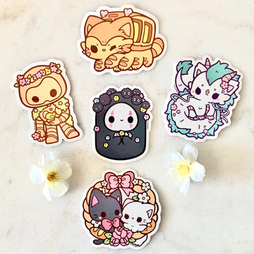 Ghibli Vinyl Stickers
