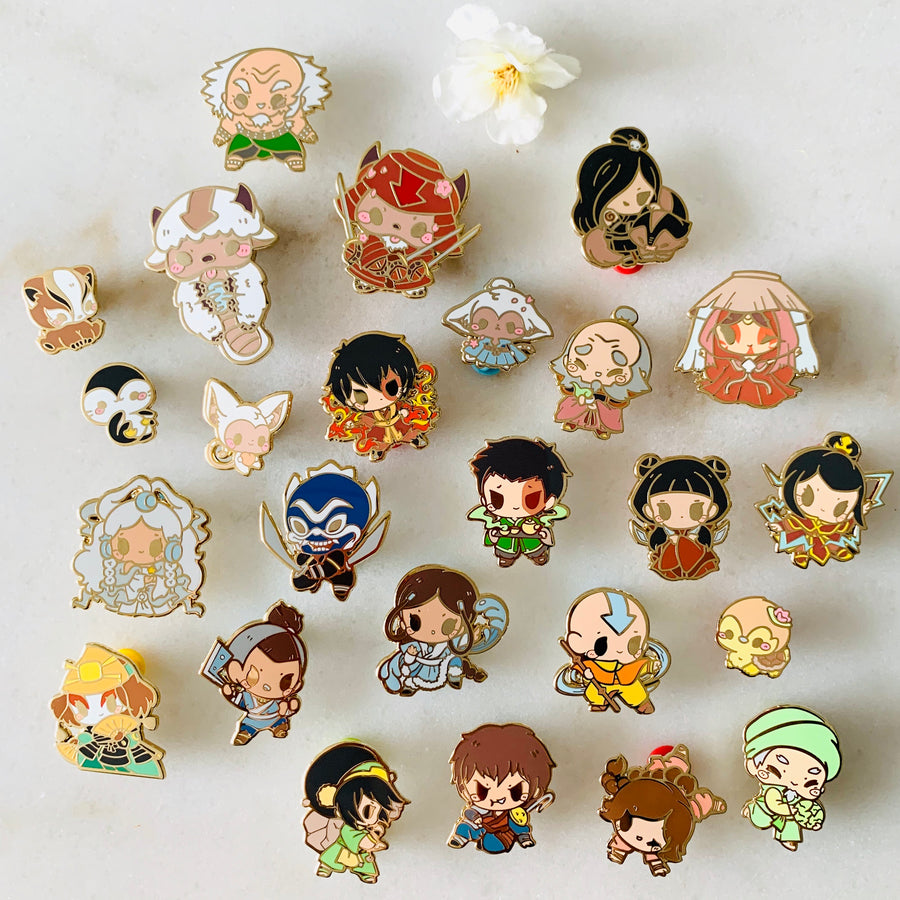 FULL PIN SET: ATLA