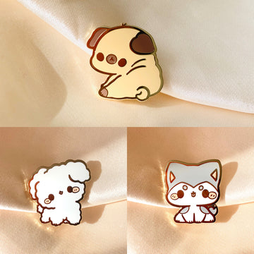 *LAST CHANCE* FULL PIN SET: Doggos