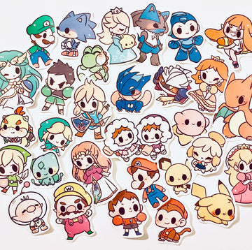 Super Smash Bros Stickers