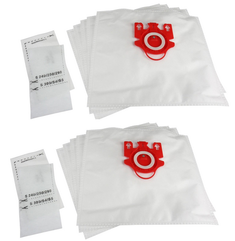 10 X Miele Vacuum Cleaner Bags Double