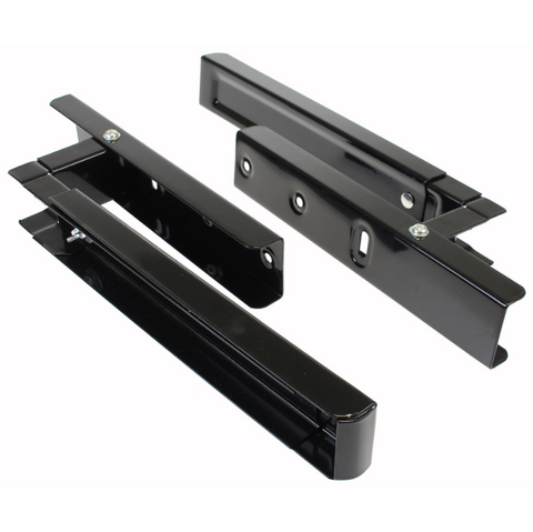2-black-universal-microwave-wall-mounting-holder-brackets-with-extending-arms