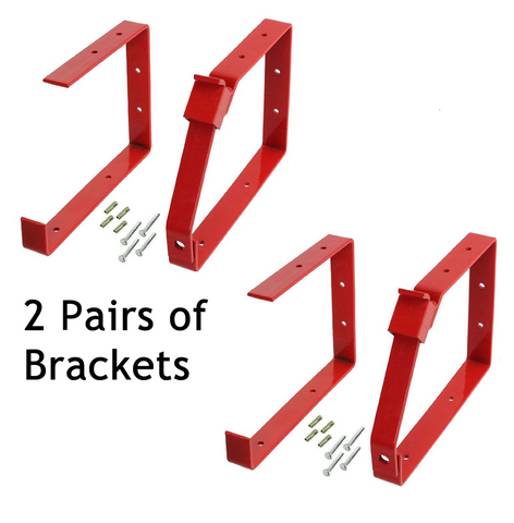 2-sets-of-universal-lockable-wall-ladder-rack-secure-ladders-locking-brackets