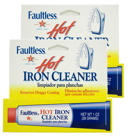2-x-faultless-hot-iron-soleplate-cleaner-burn-remover-multi-surface-gel