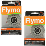 2-x-genuine-flymo-contour-500-xt-double-autofeed-strimmer-trimmer-spool-line