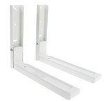 2-x-white-microwave-wall-mounting-extendable-arm-brackets-for-russell-hobbs