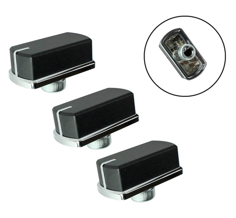 3-x-genuine-belling-hob-oven-cooker-switch-knobs-silver-black-fse60do-fse60dop