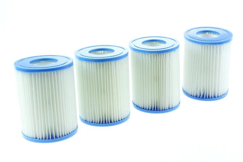 4-x-spa-filter-cartridges-for-bestway-lay-z-swimming-pools-spas-hot-tubs