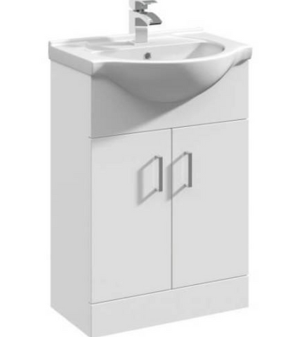 550mm-floorstanding-bathroom-vanity-unit-basin-single-tap-hole-white-gloss