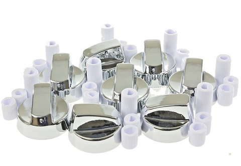 8-x-stoves-new-world-belling-cooker-oven-hob-silver-control-knobs-adaptors