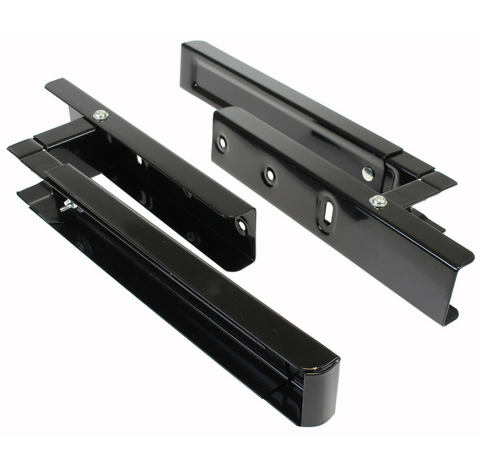 black-wall-mounting-holder-brackets-with-extending-arms-for-kenwood-microwaves