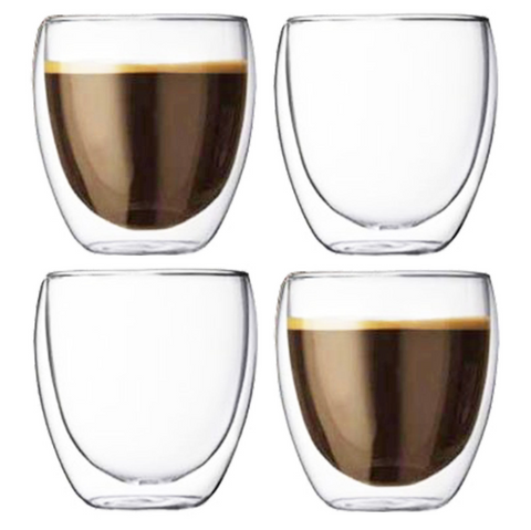 double-walled-coffee-glasses-thermal-tumblers-cappuccino-espresso-4-glass-cups