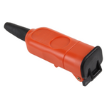 for-flymo-lawnmower-mains-lead-cable-rewireable-connector-plug-51382888-87