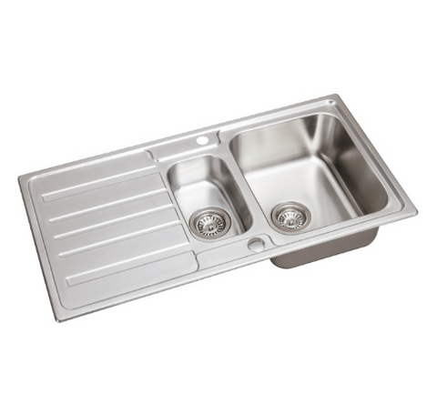 modern-stainless-steel-1-5-bowl-reversible-drainer-kitchen-sink-free-wastes