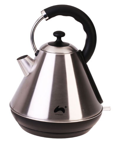 ovation-1-8l-electric-cordless-pyramid-jug-kettle-fast-boil-2200w-silver-black