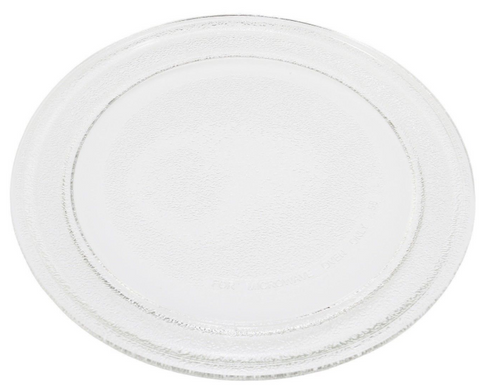 premium-quality-round-flat-universal-microwave-glass-turntable-plate-dish-245mm