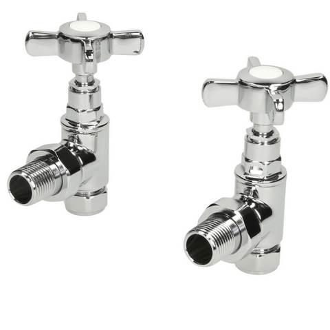 traditional-angled-heated-towel-rail-radiator-valves-cross-head-pair-15mm-manual
