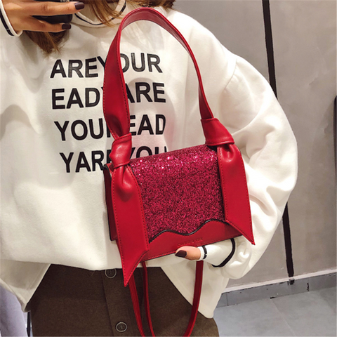 Fashion versatile sequin crossbody bag