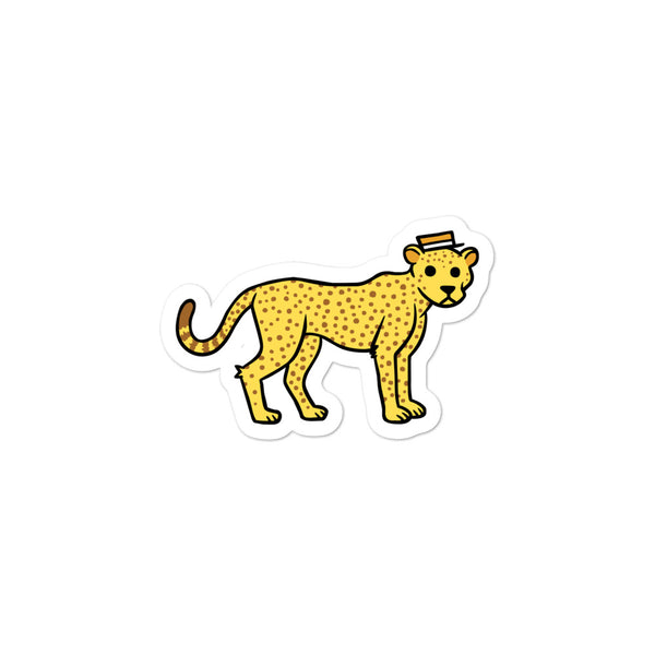 Stu the Cheetah Sticker