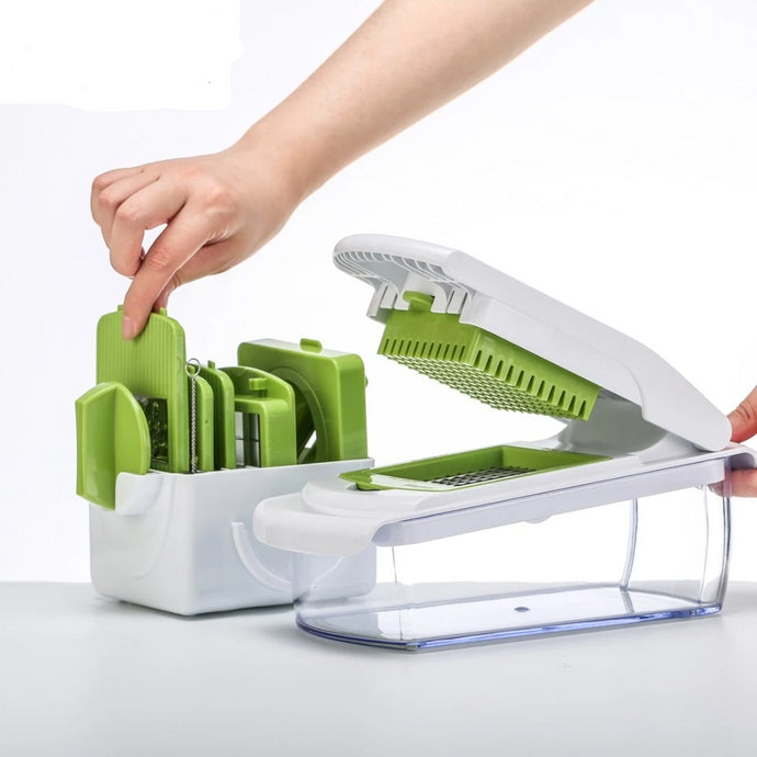 Multi Use Vegetable & Salad Shooter Slicer and Shredder