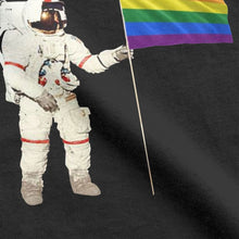 Load image into Gallery viewer, The LGBT Flag Astronaut Men T-shirt