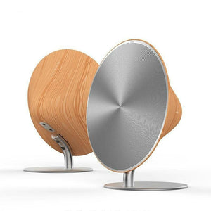 Remax Wireless Retro Speaker Wood Surface