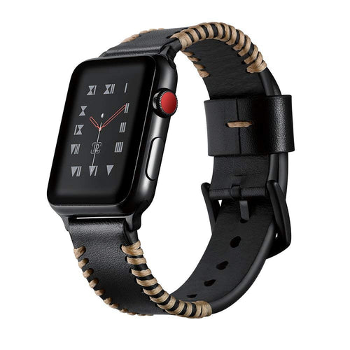 Genuine Leather Casual Strap for Apple Watch