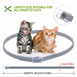 Dewel Flea & Tick Collar for Cats - 8 Months
