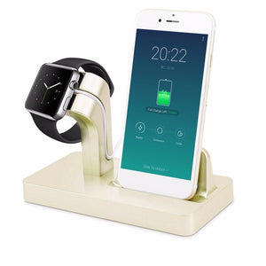 2 in 1 Apple Wireless Charging Station for Apple Watch and iPhone