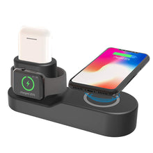 Load image into Gallery viewer, 4 in 1 Apple Wireless Charging Station for iPhone, Apple Watch, Airpods, and iPad