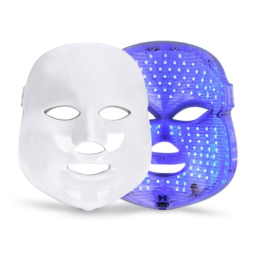 Light Skin Therapy Facial Treatment Device - LED Facial Mask