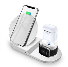 Load image into Gallery viewer, 3 in 1 Apple Wireless Qi Charging Station for iPhone, Apple Watch and Airpods