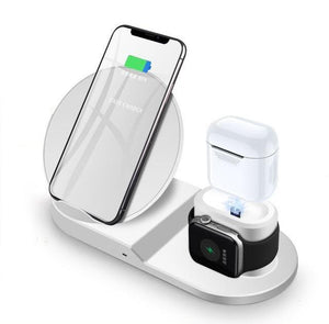 3 in 1 Apple Wireless Qi Charging Station for iPhone, Apple Watch and Airpods